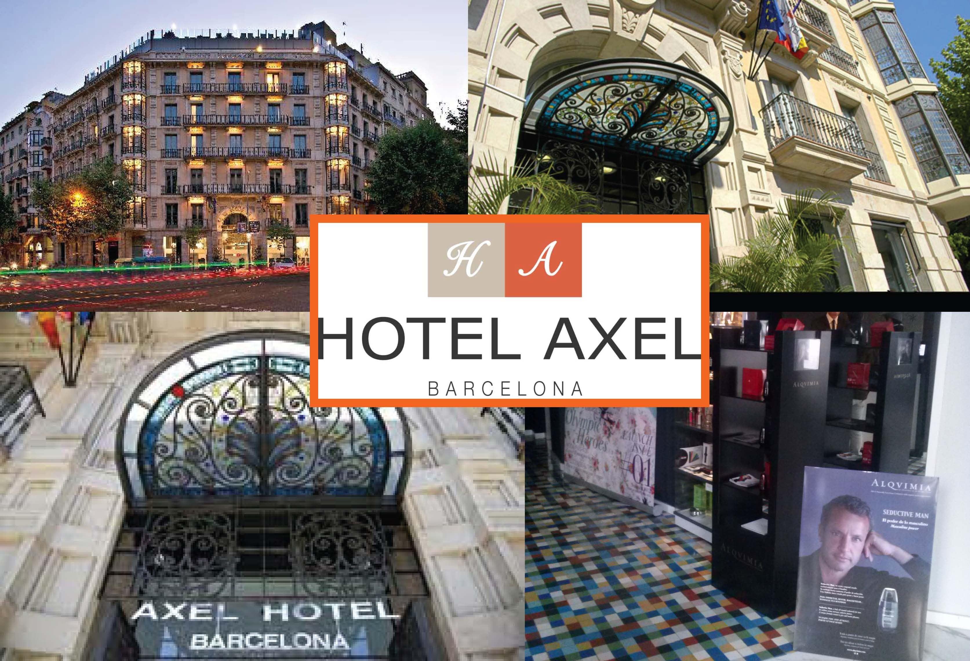 Alqvimia en el Hotel Axel de Barcelona