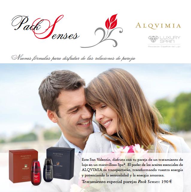 Disfruta de San Valentín con Alqvimia.