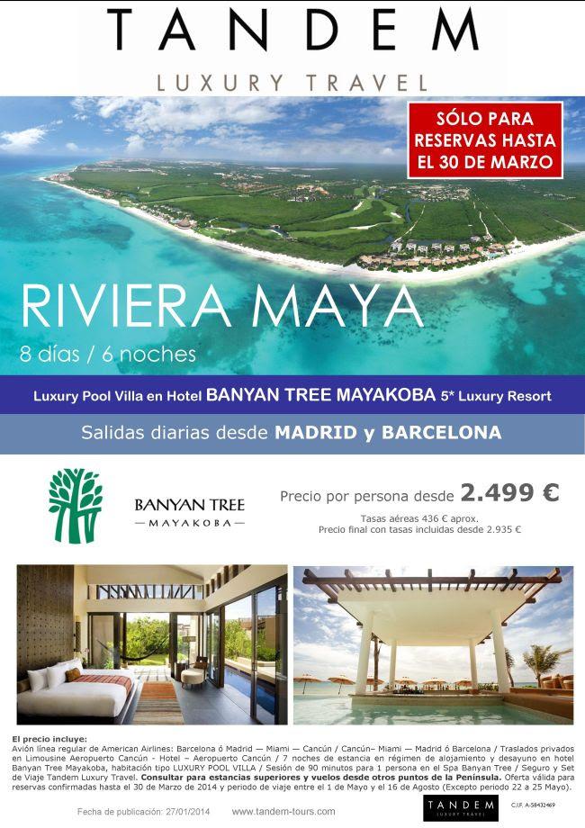 Riviera Maya en Banyan Tree Mayakoba, Luxury pool Villa