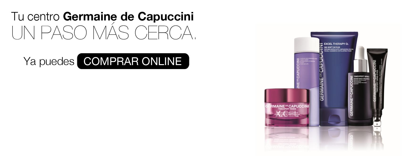 Germaine de Capuccini lanza su tienda online en España