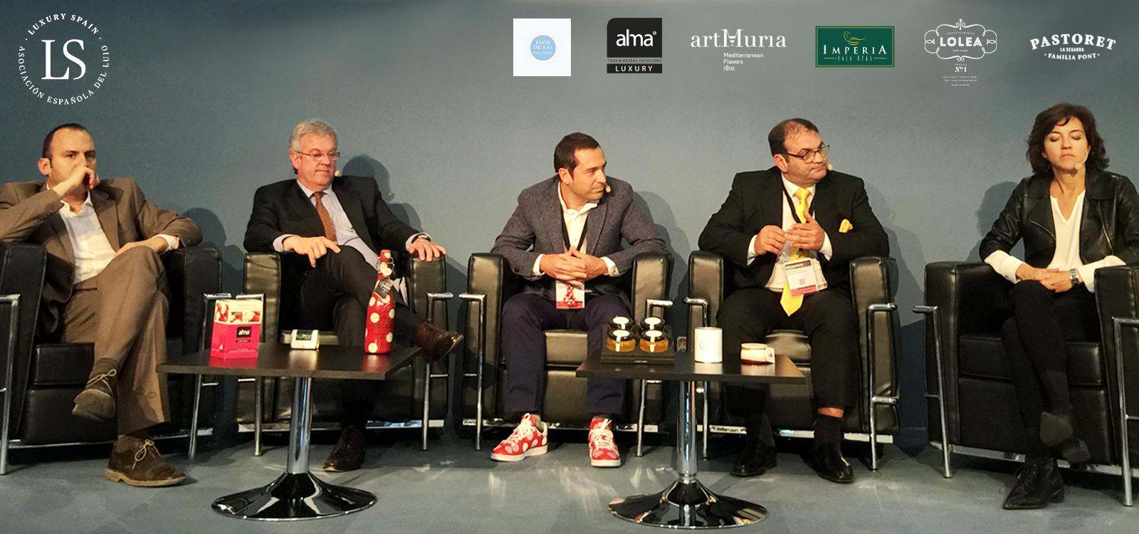 """Conferencia """"Luxury Spain Gourmet"""" en Alimentaria 2016"""