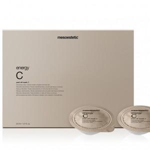 energy C peel-off mask. Nueva mascarilla facial antiedad y detoxificante de mesoestetic | Luxury Spain