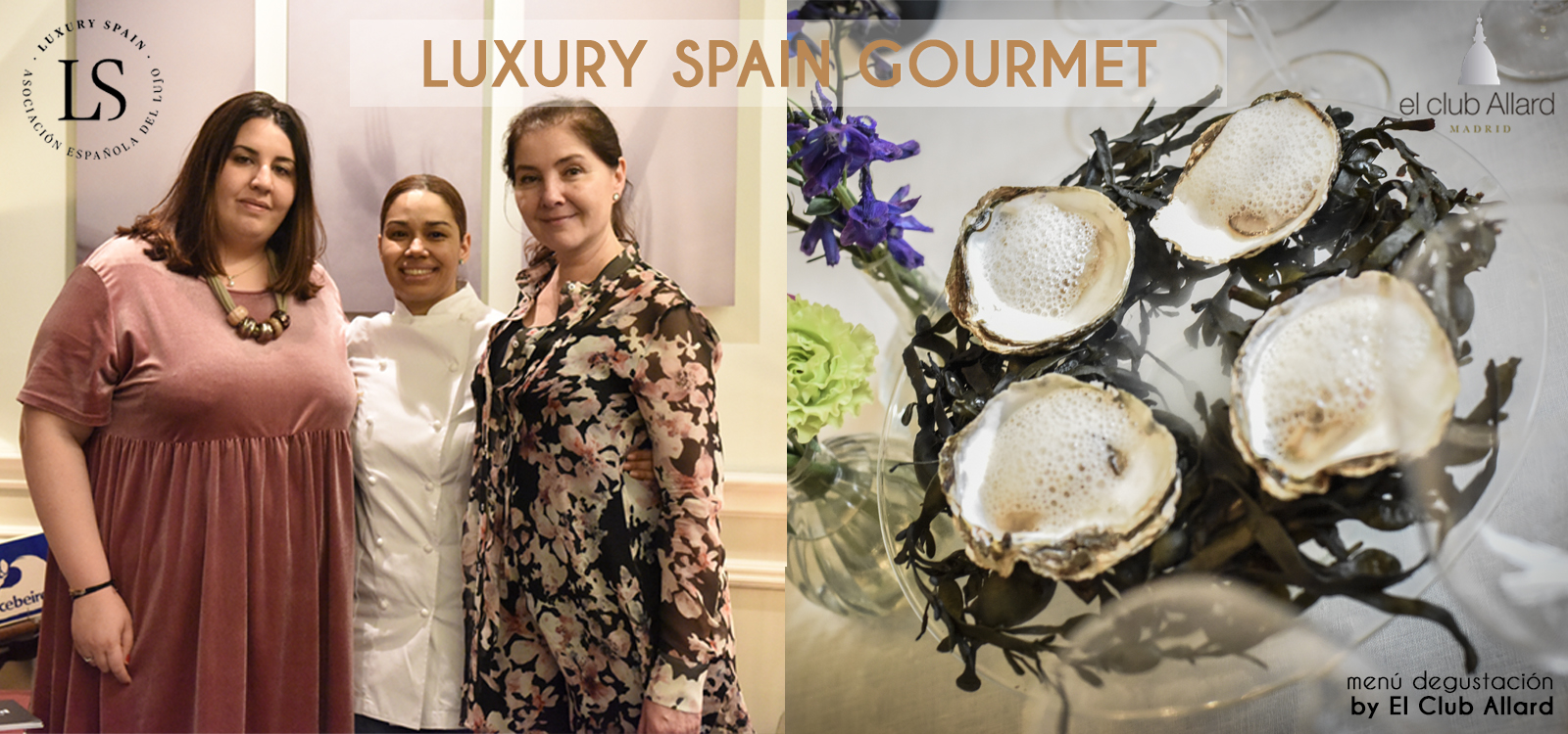Presentación Menú Luxury Spain Gourmet by El Club Allard