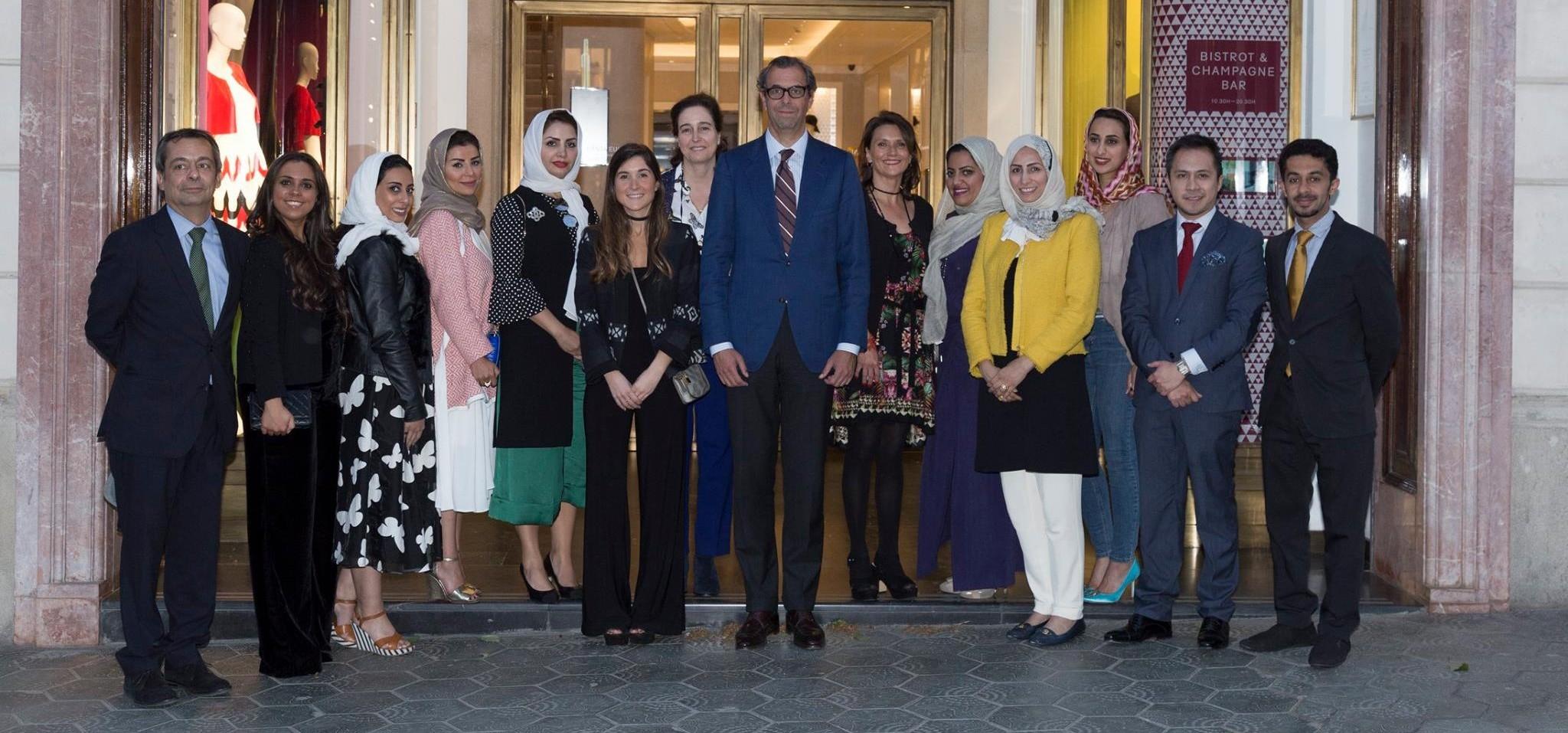 Luxury Spain anfitrión en la cena de gala a empresarias de Arabia Saudí
