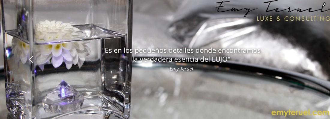 """""""Emy Teruel Luxe & Consulting"""", primera consultoría sobre lujo especializada en Bodas, Eventos y Lifestyle"""