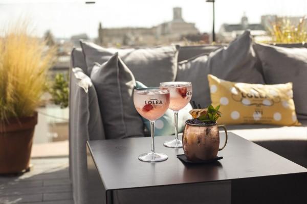 Terraza-Lolea-Hotel-Yurban-luxury-Spain