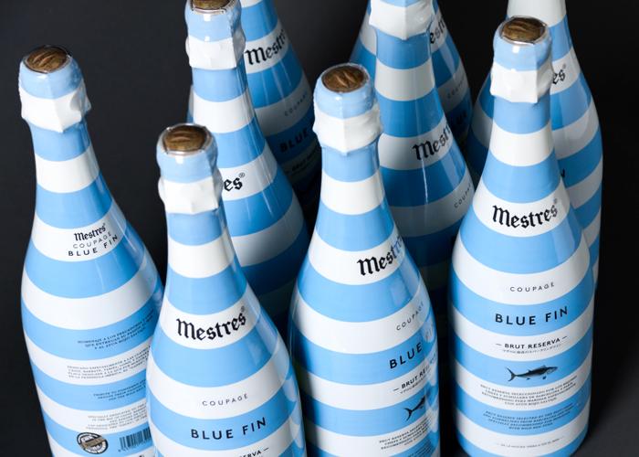 Blue Fin de Mestres, el cava que homenajea a los pescadores, chefs y comerciantes que trabajan el atún rojo | Luxury Spain