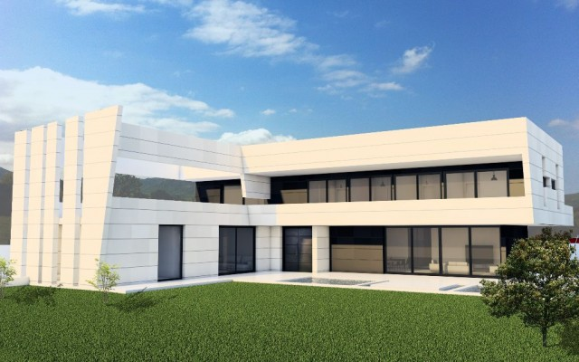 Grupo Arquitec proyecta una espectacular vivienda en la exclusiva urbanización La Finca de Madrid