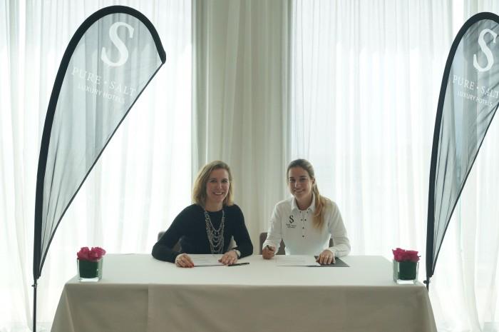 Pure Salt Luxury Hotels, nuevo patrocinador de la golfista Luna Sobrón   Luxury Spain