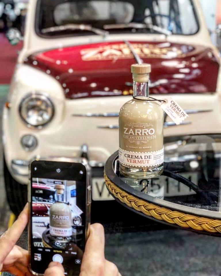 Crema de Vermut, la última creación de los maestros de Zarro, el Vermut de Madrid | Luxury Spain