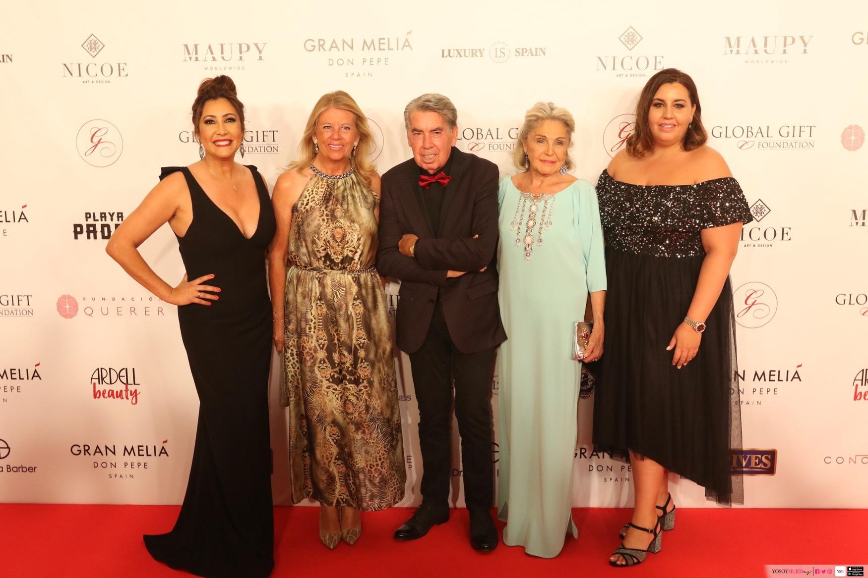 La Asociación Española del Lujo – Luxury Spain colabora en la Gala Global Gift en su séptima edición en Marbella