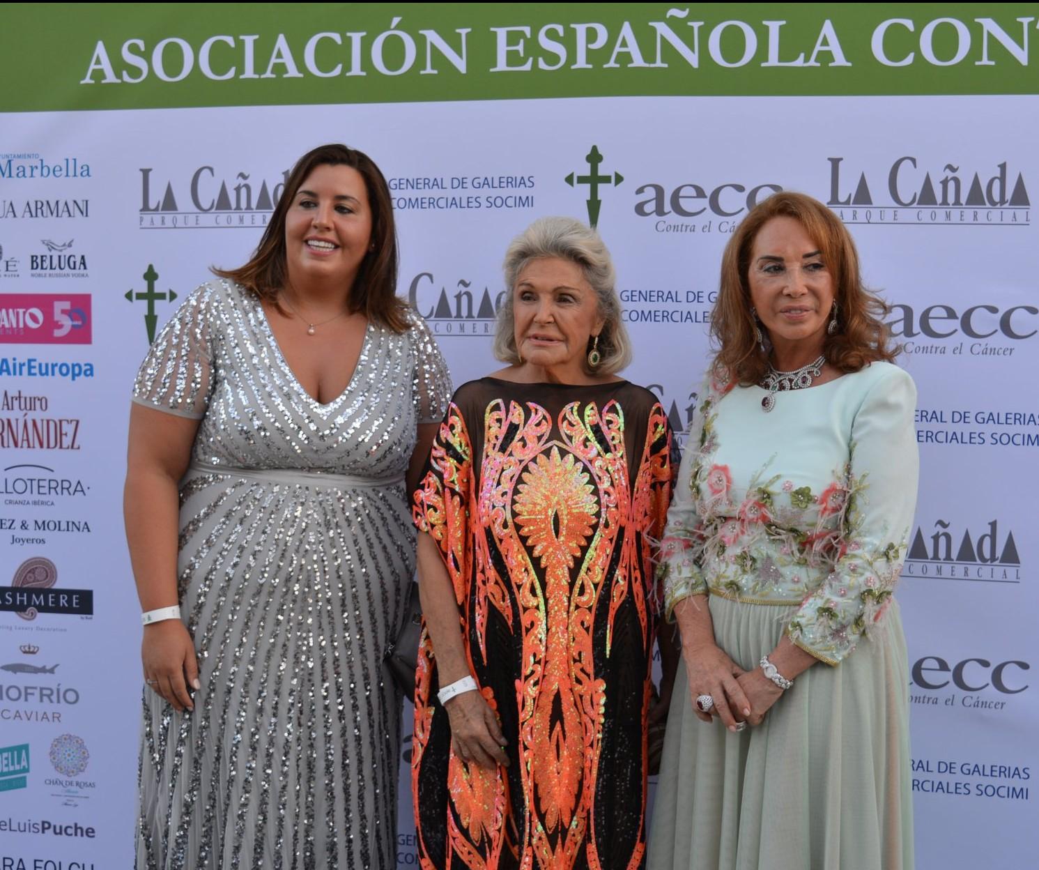 Las presidentas de la Asociación Española del Lujo – Luxury Spain ofrecieron su apoyo en la Gala contra el cáncer en Marbella.