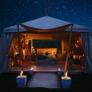 Una noche bajo la luz de las estrellas en la Tipi Suite de Actuality Carpas | Luxury Spain