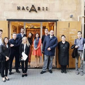 Luxury Spain ofrece una ruta y una cata a los alumnos de L'Ecole Superieure d'Hotellerie Paris   Luxury Spain
