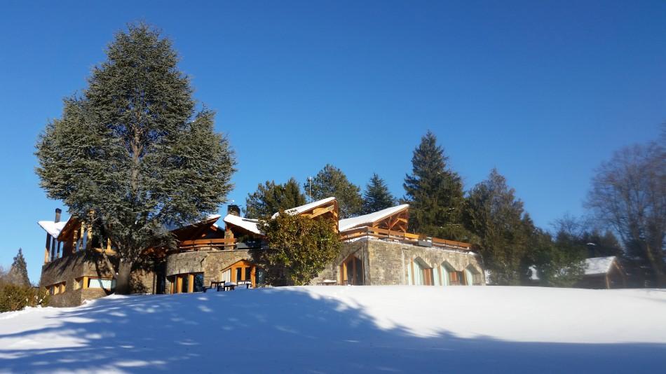 Navidad en familia en Villa Pyrenees, un enclave de ensueño
