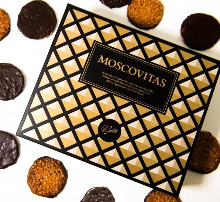 Confitería Rialto lanza las Moscovitas con cobertura de chocolate negro   Luxury Spain