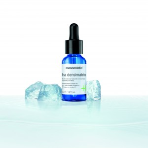 mesoestetic lanza ha densimatrix, un concentrado que proporciona a la piel una acción hidratante, antiedad, repulpante y rellenadora | Luxury Spain