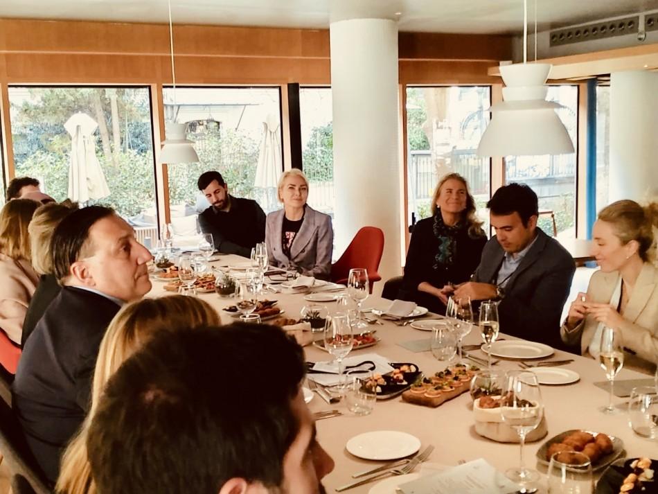 almuerzo networking-LuxurySpain