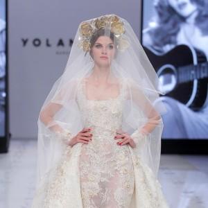 Yolancris presenta a una novia sin miedo y femenina en la VBBFW19   Luxury Spain