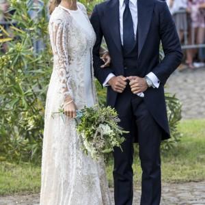 Yolancris viste a María Pombo en su gran día   Luxury Spain