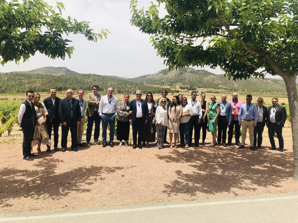 Luxury Spain celebra su Asamblea General Extraordinaria en las Bodegas del Grupo  MGWines