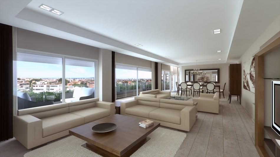 One-Pedralbes-House-comedor-LuxurySpain