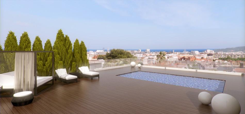 One-pedralbes-House-atico-LuxurySpain