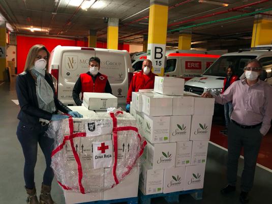 #SOLIDARITYPARTNERS – MG WINES se une a la campaña Plan Cruz Roja Responde | Luxury Spain