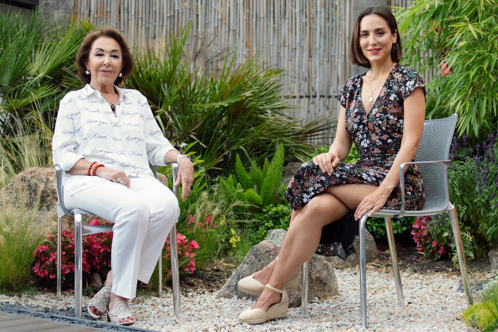 Tamara Falcó visita el centro estético de nuestro socio Carmen Navarro