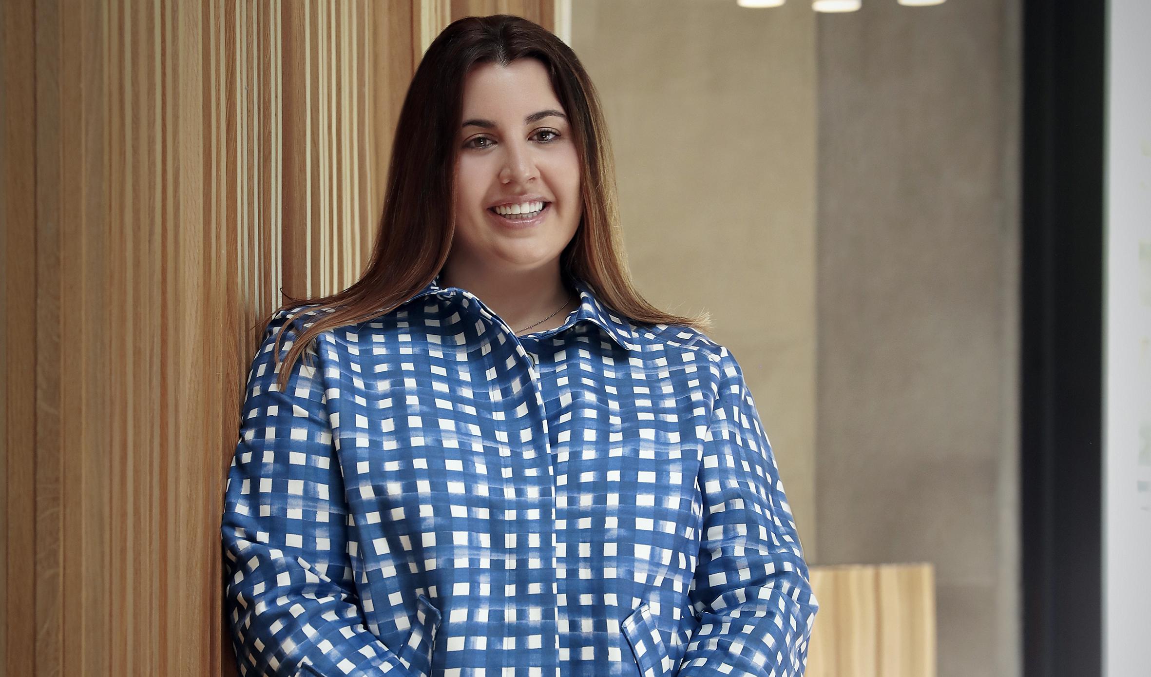 Cristina Martin, presidenta de la Asociación Española del Lujo – LUXURY SPAIN para la Contra de La Vanguardia