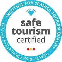 Logo Safe Tourism Rosa